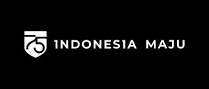 Logo HUT RI Hitam Putih