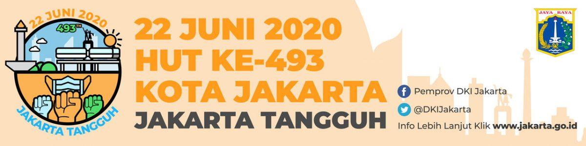 Desain Spanduk HUT DKI Jakarta 493